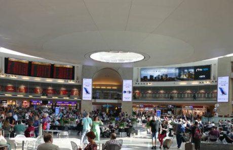 """גידול של 20% בתנועה הנוסעים הבינלאומית ביוני בנתב""""ג"""