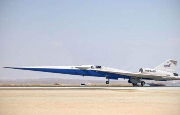 """מטוס הסופר סוניק השקט X-59 של נאס""""א נכנס לשלבי הרכבה סופיים"""