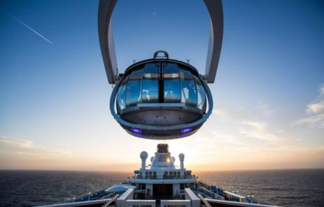 קפסולת זכוכית המאפשרת תצפית של 360 מעלות
