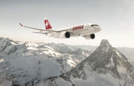 SWISS תהיה הראשונה שתפעיל מטוס  CS100