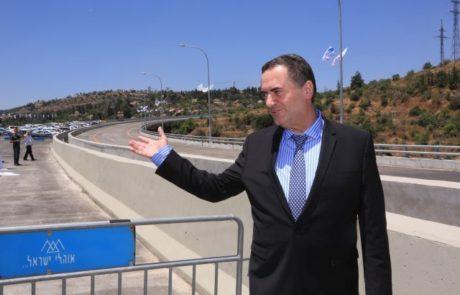 גשר מוצא מירושלים לתל אביב נפתח לתנועה