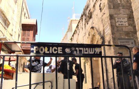 אזרח ירדני נורה למוות לאחר שתקף שוטר בסכין