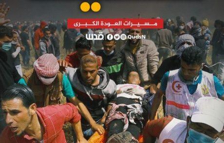 הרוגים פלסטינים בהתפרעויות בעזה