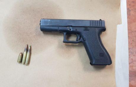 אקדח גלוק ותחמושת נתפסו בבית בחברון