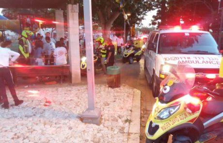 בן שמונה נהרג בתאונת דרכים  קטלנית בשומרון