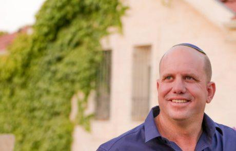 ירון רוזנטל יתמודד לראשות מועצת גוש עציון