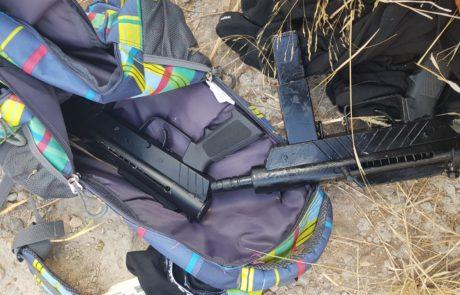 שני פלסטינים חמושים נתפסו ליד מחסום אורנית