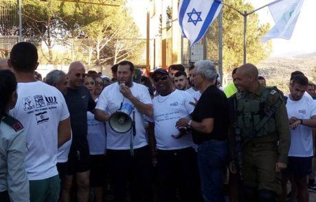 מירוץ בשומרון לזכר שני החיילים שנרצחו בפיגוע דריסה לפני ארבעה חודשים