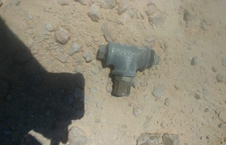 שני מטעני צינור הושלכו לעבר קבר רחל