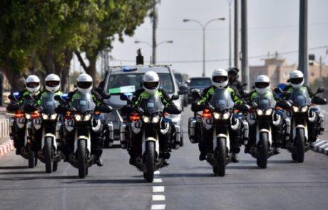המשטרה השלימה את היערכותה לקראת ביקורהשל קנצלרית גרמניה