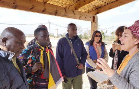 משלחת מיוחדת מאוגנדה ביקרה בשילה הקדומה שבבנימין