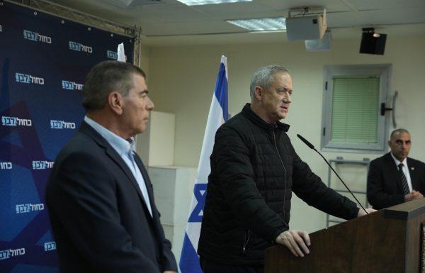 גבי אשכנזי ימונה לשר הביטחון בממשלתי ויתקן את מחדלי נתניהו