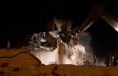 """ביתו של המחבל שרצח את הנערה בת ה-16 נהרס בידי צה""""ל"""