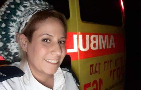 מאז שאיבדה את בעלה היא מצילה חיים