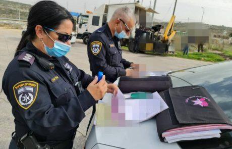 המשטרה מגבירה את האכיפה בכביש חוצה שומרון