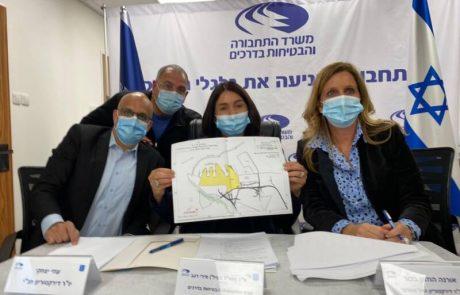 הסכמים היסטוריים  בין חברת נמלי ישראל לחברת נמל אשדוד