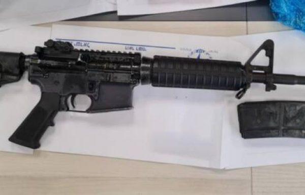 רובה M-16 ואקדח FN נתפסו בכפר כאבול