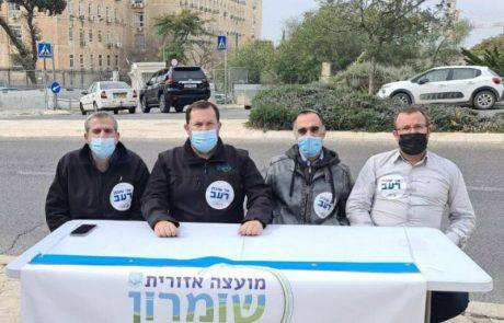 ראש מועצה אזורית שומרון פתח בשביתת רעב