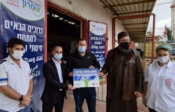 בשומרון נערכים לחיסון כ –  5000 עובדים פלסטינים,