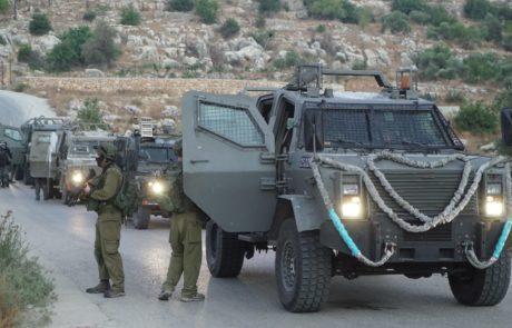 150 פלסטינים מהכפר של המחבל התפרעו בלילה