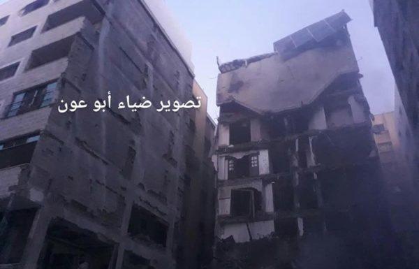 """מבנה טרור ייחודי בעזה הותקף בידי צה""""ל"""