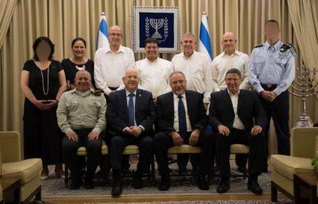 """הערב חולק פרס ביטחון ישראל לשנת תשע""""ז"""