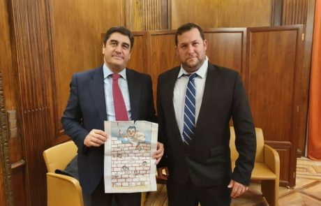 מדריד: גילויי אנטישמיות נגד ראש מועצת שומרון