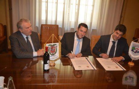 נחתם הסכם כלכלי בין אירופה לשומרון