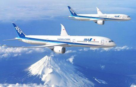 קבוצת ANA היפנית החליטה לרכוש עוד 20 מטוסי בואינג 787