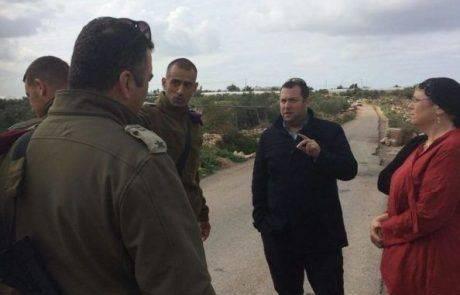 דגן דורש לא לפתוח את צומת האורות לפלסטינים