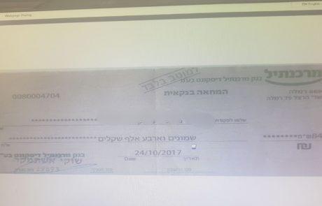 """נחשפה כנופיה מרמאללה שעקצה חברות ואזרחים ישראלים בשווי של מעל 7 מיליון ש""""ח."""