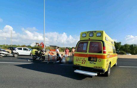 טרגדיה: בן 30 נהרג בתאונה בין רכב לאופניים חשמליים