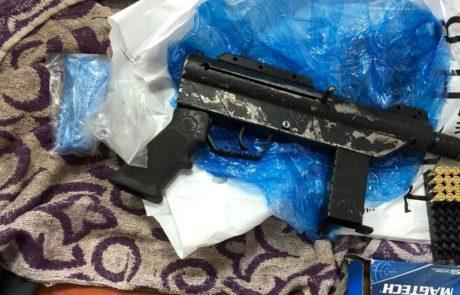 """נעצר תושב ג'סר א זרקא בגין אחזקת אמל""""ח לא חוקי"""
