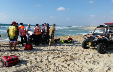 צעיר קפץ לים  להגיש עזרה וטבע למוות