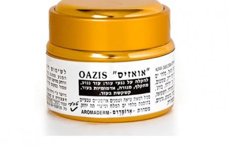 """""""אואזיס""""  קרם טבעי לטיפול בעור יבש ומתקלף"""
