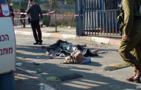 שני פצועים בפיגוע באריאל מערב