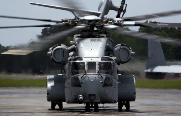 סיקורסקי מסרה את מסוק CH-53K הראשון לכוחות הנחתים