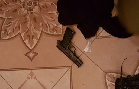 הותר לפרסום יצרני וסוחרי נשק  נעצרו הלילה בשומרון