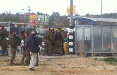 פלסטינית נורתה בעת שניסתה לבצע פיגוע דריסה