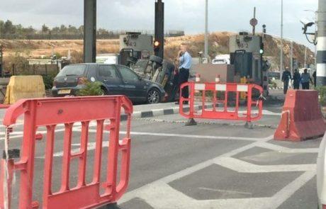יריות במחסום חוצה שומרון