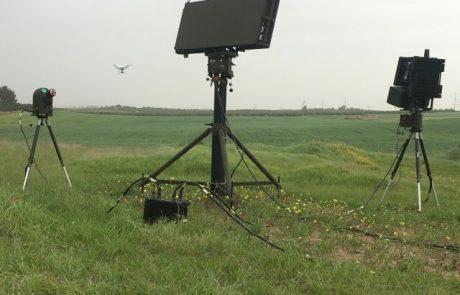 הדגמות מוצלחת של מערכת נגד רחפנים של התעשייה האווירית