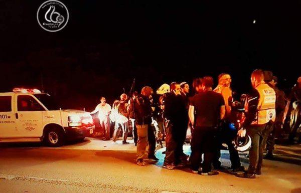 פצוע קשה בפיגוע ירי בסמוך לחוות גילעד בשומרון