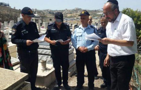 עשרות שוטרים בהלוויה של קשישה שלא הכירו מעולם