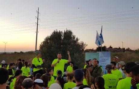 לזכרה של אדל ביטון  רצים מכל הארץ הגיעו לרוץ בשומרון