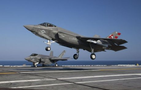 הצי האמריקני: F-35C הגיע ליכולת מבצעית ראשונית