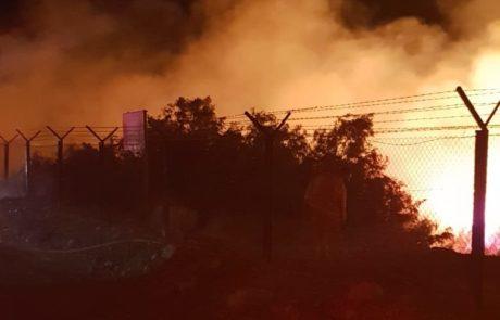 שלושה נעצרו בחשד להצתת השריפה בעיינות צוקים