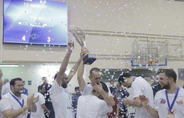 """אליצור שומרון קטפה את גביע האיגוד ועלתה ליגה. יוסי דגן: """"השומרון על המפה, גם בספורט"""""""