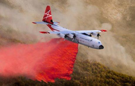 לוקהיד מרטין השיקה מטוס כיבוי – FireHerc LM-100J