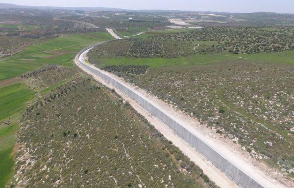 התקדמות בעבודות הקמת מכשול במרחב דרום הר חברון