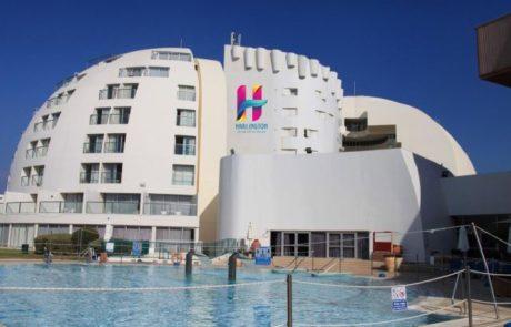 חדש: מלון הרלינגטון על הצוק ליד הים באשקלון